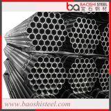 Tubo rotondo del nero saldato ERW dell'acciaio dolce per costruzione