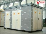 400kVA Europ Pretabricated 변전소 또는 결합된 변압기