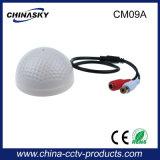 Microfone elevado da câmera do CCTV da definição para o sistema de vigilância audio (CM09A)