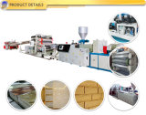 Production en Plastique de Voie de Garage de PVC de Feuille en Pierre de Panneau Expulsant Faisant la Machine