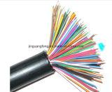 Пламя - retardant оплетка изолированного и обшило/медного провода /PVC защищая кабель системы управления