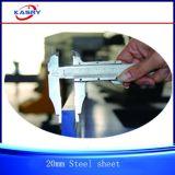 Cortadora plateada de metal multi del CNC del cabezal cortador Kr-PLD