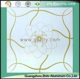 Потолок печатание покрытия ролика для богато украшенный украшения - удача приходит с зацветая цветками