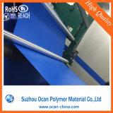 Hoja rígida coloreada del PVC