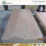 precio rojo de la madera contrachapada de Bitangor Commerical del espesor del estándar de 6m m