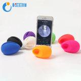 Sostenedor del soporte del silicón del huevo/altavoz coloridos de la música