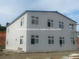 Helles Stahlfertighaus/vorfabrizierte Häuser verwendeten Büros oder private lebende Häuser