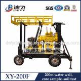 Xy 200f perforación del pozo de agua de perforación de la máquina - Profundidad 200m