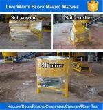 Solo de Eco Premieum/bloco de bloqueio que faz a máquina