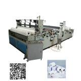 Rolo Maxi do papel higiénico automático do rolo enorme que faz a máquina
