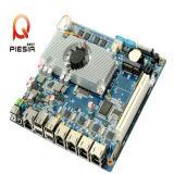 Processeur Atom à consommation minimale de 17W Mini-Itx Motherboard avec port 4LAN