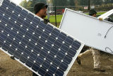 Panneau solaire de silicium monocristallin de 175 watts (TUV, CE)