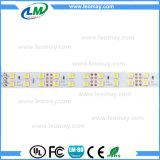 Doppia riga striscia flessibile dell'indicatore luminoso eccellente di luminosità di SMD 5050 LED