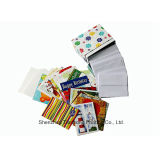 Services d'impression de carte, cartes de voeux (OEM-CR010)