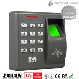 Tür-Zugriffssteuerung mit Tastaturblock u. Fingerabdruck