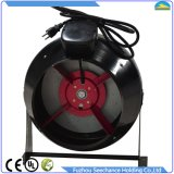 Boîtier en acier de ventilateur intégré circulaire de conduit pour la connexion de tube