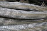Mangueira trançada do metal flexível do fio