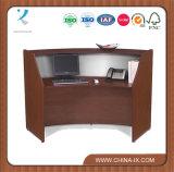"""Mesa de recepção de madeira com 19.75"""" Superfície de trabalho interior"""
