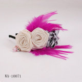 Satin/plume Hairband (WA-10071)