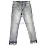 Clásicos pantalones vaqueros del algodón de los niños Jeans Denim