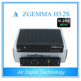 쌍둥이 조율사 DVB-S/S2 리눅스 HD PVR는 Hevc H. 265 Zgemma H5.2s를 가진 인공 위성 수신 장치를 준비한다