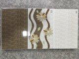 Azulejo de cerámica de la pared del cuarto de baño del girasol popular del material de construcción 3045