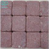 Естественные черные базальт/порфира/шифер/кубики обрушенные/песчаник/гранит каменные выстилки/камень шторок/Paver/вымощая камень
