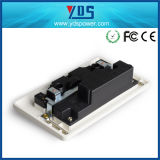 Горячий продукт 5V2.1A сбываний удваивает гнездо переключателя USB электрическое для UK типа