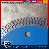 Wirbelsturm Mesh Turbo Diamond Saw Blade für Ceramic Tile/Circular Saw Blade