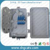 4 ranuras de fibra óptica de plástico caja terminal (FTB-0104)