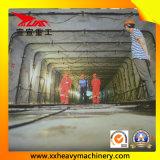 Maquinaria aborrecida do túnel do retângulo