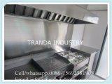 Remorque d'aliments de préparation rapide de chariot de crême glacée de système de casse-croûte de remorque d'aliments de préparation rapide