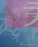 Windowsまたはガラスのステッカーを広告する一方通行の視野自己接着Vinly