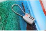 Stahlfessel-Standardarbeitsweg-Beutel Tsa Lock&Tsa Kabel-Kombinationsschloß
