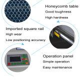 Precio de la máquina de grabado del corte del laser del CNC con el tubo del laser, refrigerador de agua