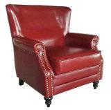 고품질 덮개를 씌운 가죽 소파 의자, 안락 의자 (627)