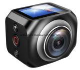 Фабрика Китай камеры экрана миниая 360 Vr HD с светом 3*LED