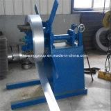 Bobina de acero galvanizada manual Uncoiler