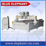 Router di CNC delle Multi-Teste di Ele 1325, macchina di CNC Miling di 4 assi per il comitato di legno, fabbricazione del portello