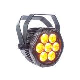 7*15W Rgbaw+UV 6 in 1 mini PARITÀ esterna del LED può