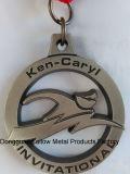 Médaille d'enjeu pour Ken-Caryl, d'invitation avec la bande bleue