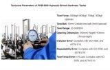 Hydraulische Brinellhärte-Prüfvorrichtung für Härte-Prüfung/Brinellhärtemesser/Metallbrinellhärtemesser/bewegliche Brinellhärtemesser-/Härte-Prüfvorrichtung/Brinellprüfvorrichtung