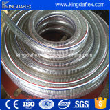 PVC螺線形の鋼線の補強のホース