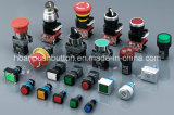 세륨 RoHS 22mm Plastic Push Button Switch