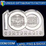 Pin значка металла логоса номера для таможни фабрики OEM сувенира