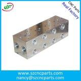 Peça de metal fazendo à máquina de alumínio das peças dos acessórios/cilindros Retainer/CNC do corpo/ferragem