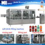 Автоматические 3 в 1 Carbonated машине завалки питья