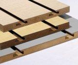 Displayのための細長かったMDF BoardかSlatwall Panel/Slatwall Board/Slatwall