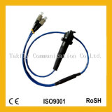 Connettore impermeabile ottico esterno industriale della fibra di IP67 FC