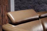 Il nuovo sofà domestico moderno del cuoio del salone della mobilia ha impostato (HC8113)